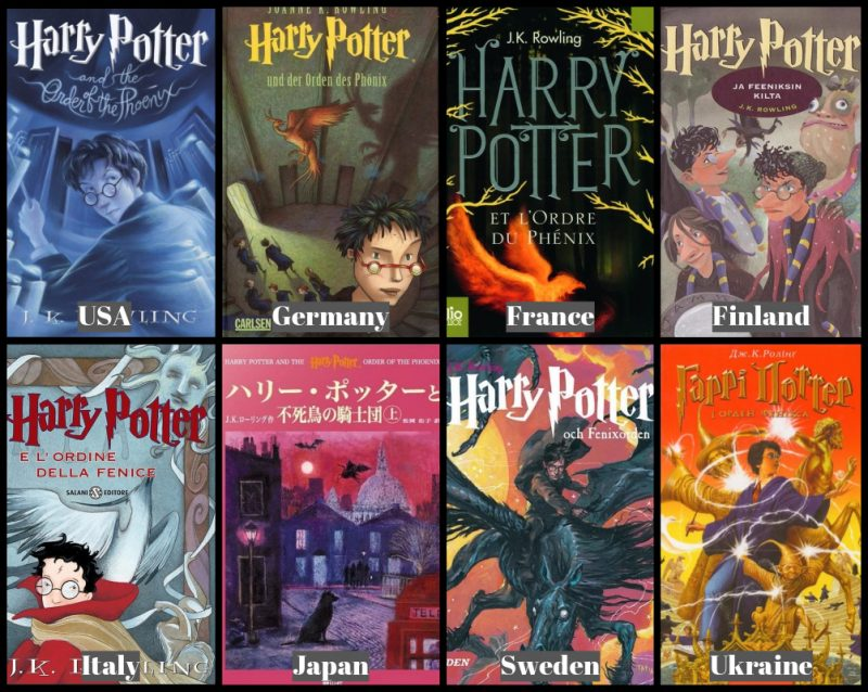 Harry Potter Book Cover Country : Best harry potter covers from around the world compare