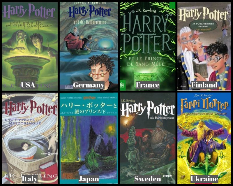 Harry Potter Book Covers Uk Vs Us : Best harry potter covers from around the world compare