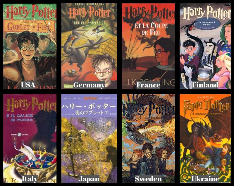 Harry Potter Book Cover Us ~ Best harry potter covers from around the world compare