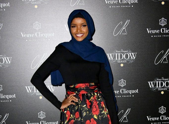 Halima-Aden-Veuve-Clicquot-Widow-Series-photo