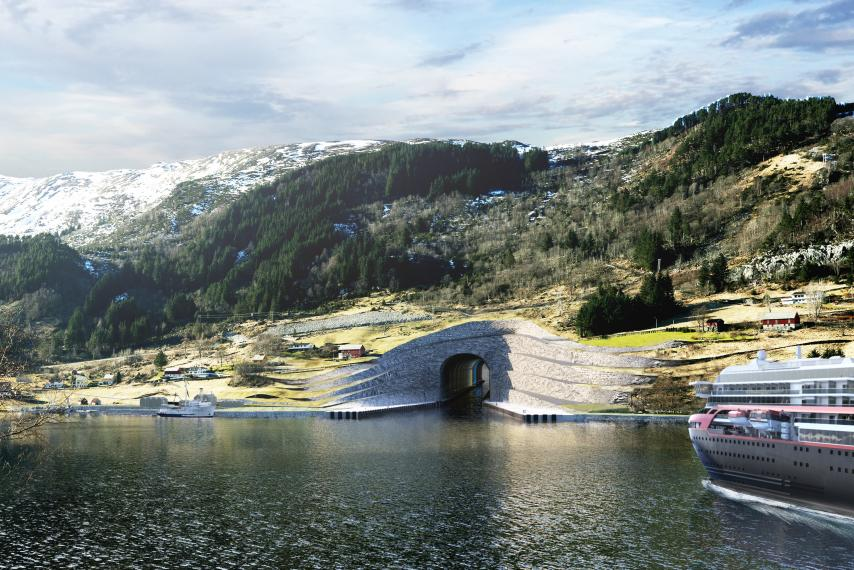 norway-ship-tunnel-stad-peninsula-photo