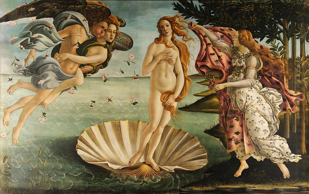 The-Birth-of-Venus-Painting-pic