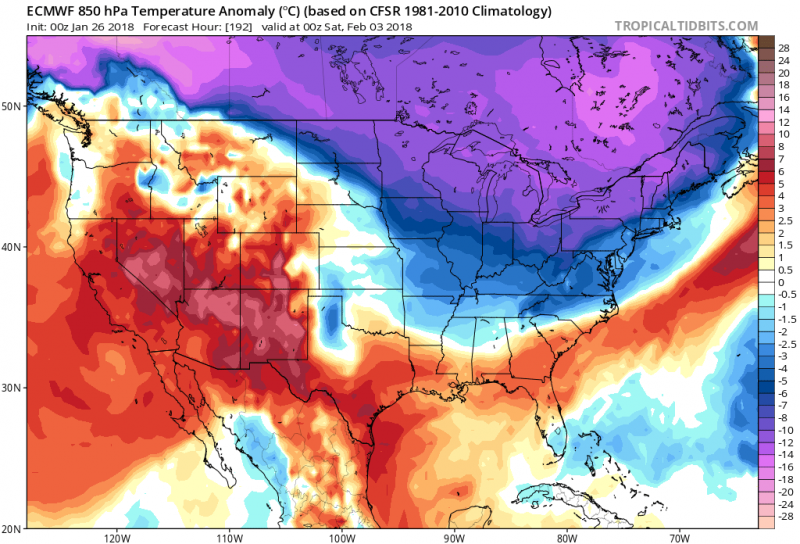 Alert! Extra-Cold February Is Coming US and Canada – Don\'t ...