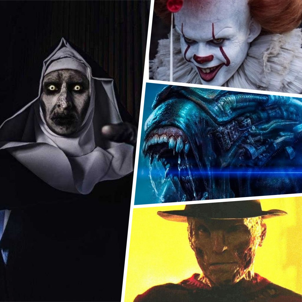 Frightening and Beautiful: 17 Actors in Horror Movies vs Real Life