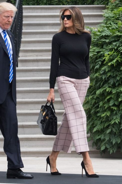 Fashion Guide For 40 Melania Trump Best And Chic Looks