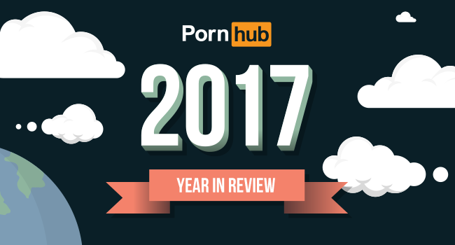 Top 5 PornHub Trends of 2017: You Won't Believe