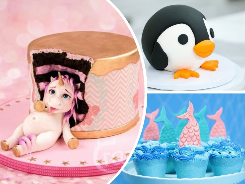 Fat unicorn cakes trend and 6 more adorable ideas for a for Cute video ideas