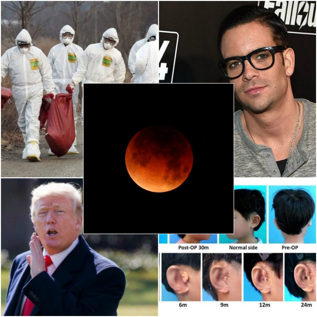 Hottest Weekly News: Super Blue Blood Moon, Olympics Are in Jeopardy and More