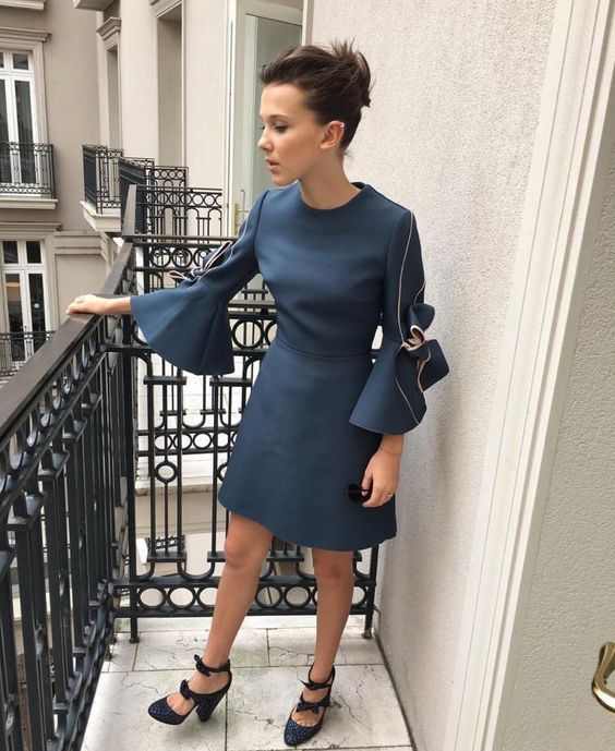 Millie Bobby Brown Style Fashion Ideas To Try From Stranger Things Star