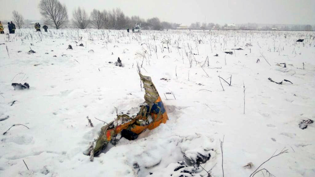 71 Die in Awful Plane Crash in Russia, Shortly After Takeoff (PHOTOS)