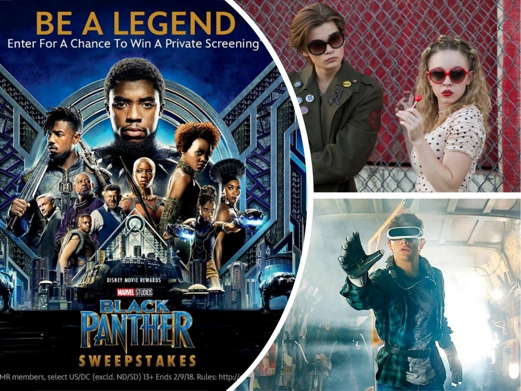 Weekly Movies Premieres and Announcements: Black Panther, Everything Sucks!, Ready Player One and More