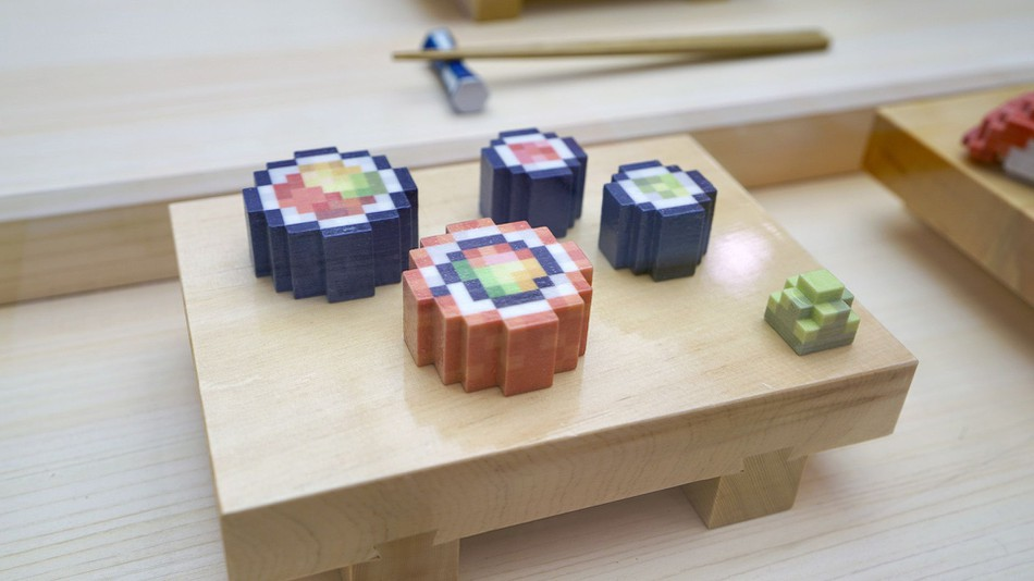 3D Printed Food: Have You Tasted Printed 8-bit Sushi, Chocolate or Pizza?