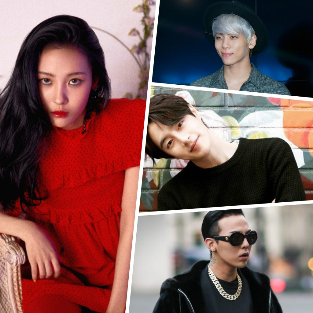 Seo Min-woo, G-Dragon and 8 More Best K-pop Stars You Should Know About