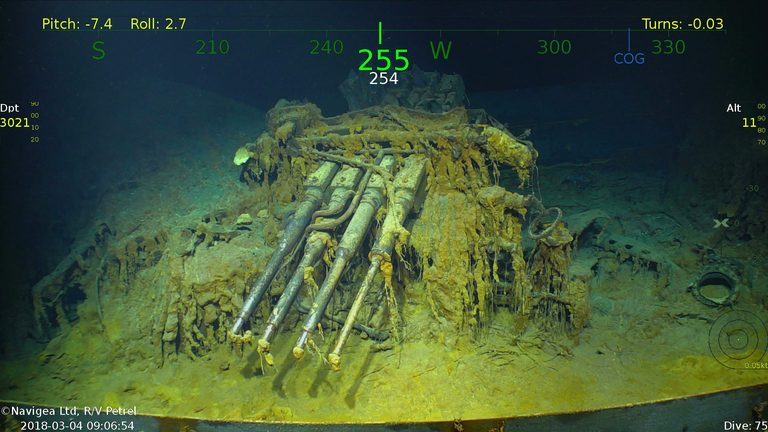 Amazing Discovery: Microsoft Billionaire Paul Allen Finds USS Aircraft Carrier After 76 Years!