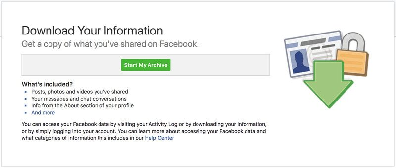 How to delete or deactivate your facebook account in 2 easy steps delete facebook photo ccuart Gallery