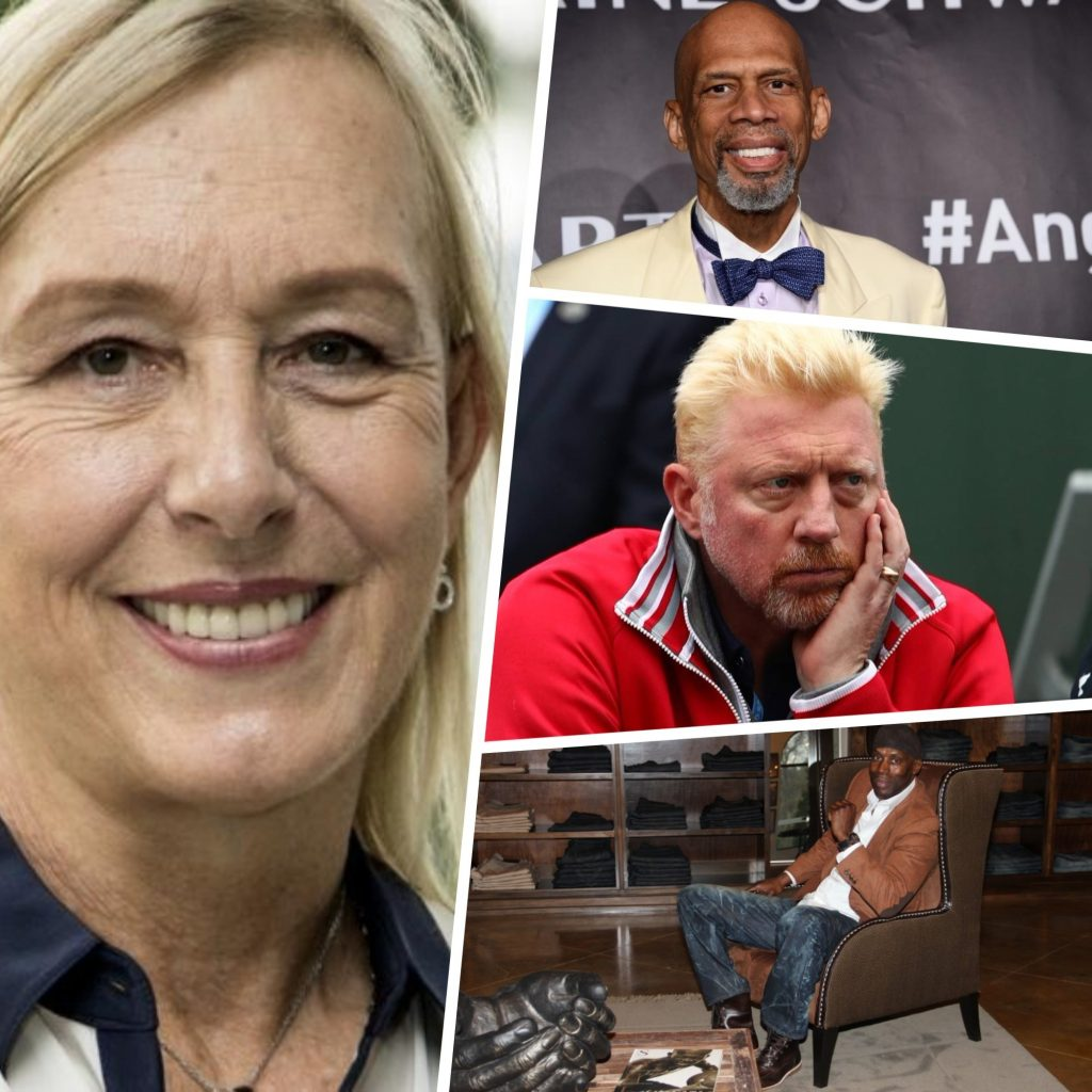 3deacfa015e Life After Big Sport: Martina Navratilova and 3 Other Retired Athletes Who  Lost Their Success