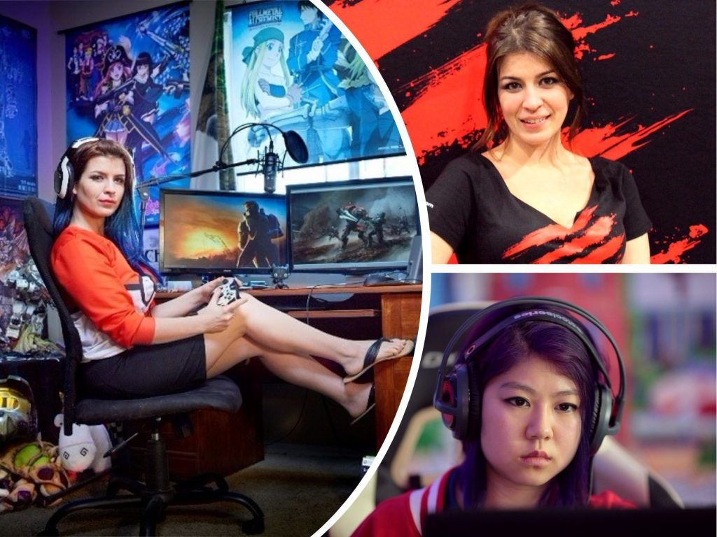 6 HOT Professional Female Players That Kick Butts in eSport