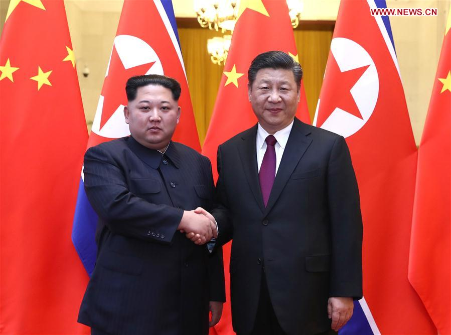 North Korea's Kim Jong Un Meets Xi Jinping For the First Time - Will Trump Be the Next?