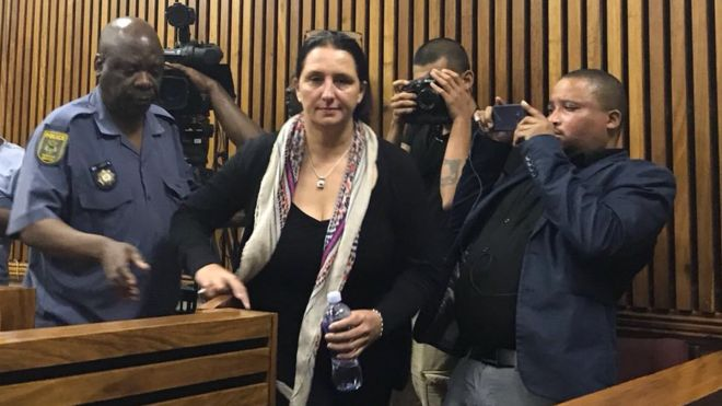 Landmark Ruling! South African Woman Jailed For 3 Years For Racially Abusing Police Officer