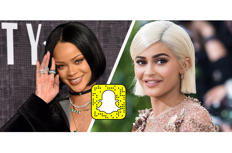 Here's How Rihanna and Kylie Jenner Killed Snapchat in 1 Second