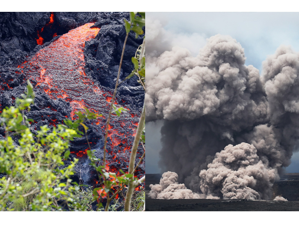 Biggest Eruption Ever: Hawaii Volcano Ash Rises 12,000ft High and Bursts Toxic Gas - Here's How to Protect Yourself (PHOTOS)