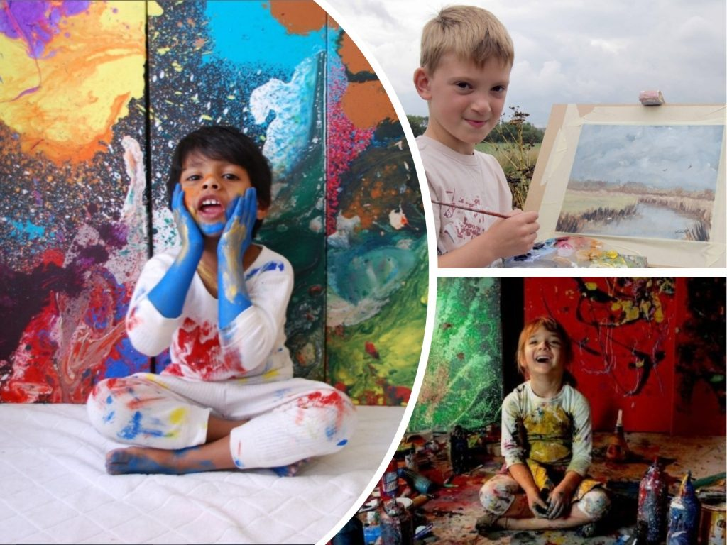 Little Monet: 4 Kids Who Are Painting Prodigies and Sell Their Artworks for Thousands of Dollars