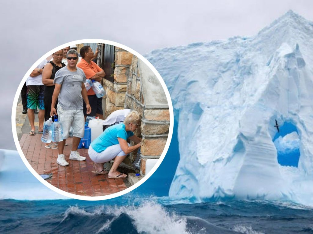 'Day Zero': Experts Want to Bring Giant Iceberg to Cape Town Attempting to Solve Water Crisis