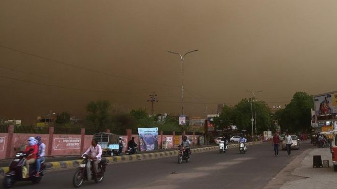 Deadly Indian Dust Storm Killed Almost 100 People - Fierce Winds Topple Trees and Destroy Houses (Shocking Photos)