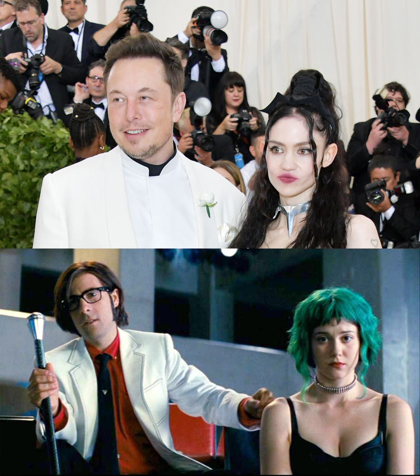 Elon Musk and Grimes Appearance at the Met Gala Inspired Tons of FUNNIEST Memes