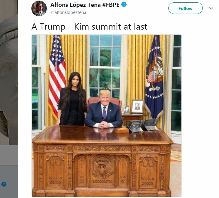 Kim Kardashian Meeting Donald Trump Inspired Tons of FUNNIEST Memes - POTUS Finally Met Kim, But Not the One We've Expected