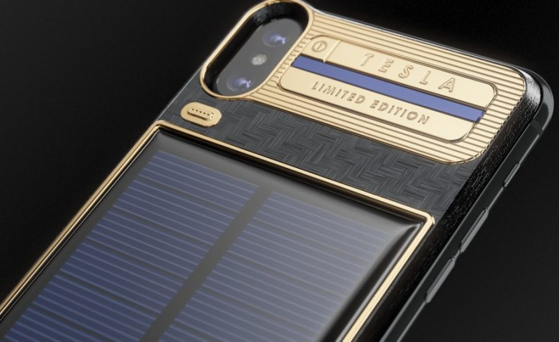 save off ea75f 354be Tesla iPhone X with Solar Panel Charging + 4 More Most Expensive and ...