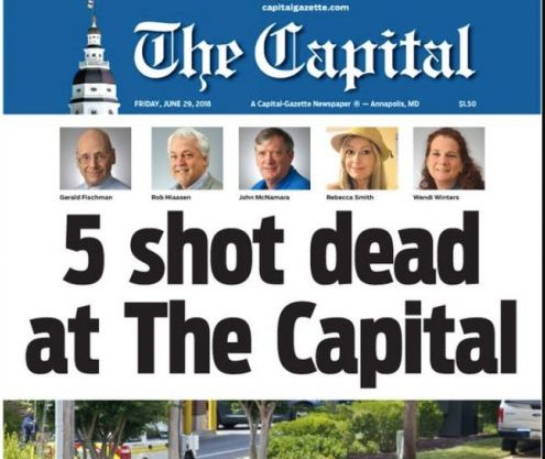 Horrible Shooting at Capital Gazette Newsroom in Maryland - Who Were The Five Victims + 8 Things We Know About the Suspect (Photos)