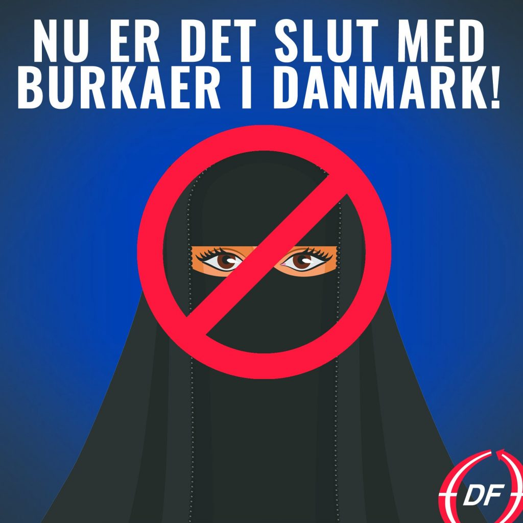 Denmark Bans Wearing Islamic Full-Face Veils as Burqas And Niqabs in Public With Up to $1,568 Fee for Violation