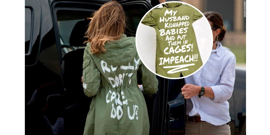 "Melania Trump Jacket: ""I REALLY DON'T CARE, DO U?"" Became A Big Meme Because Why Not??"