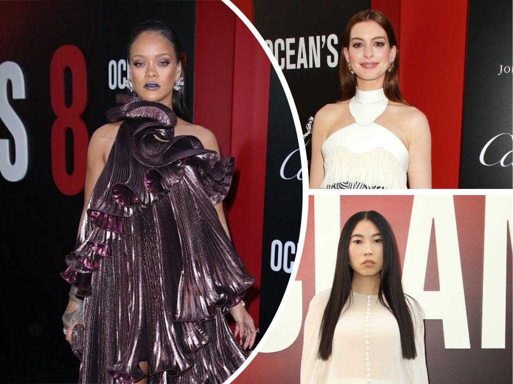 Ocean's 8: Rihanna, Sandra Bullock, Anne Hathaway + 6 More MOST Gorgeous Black Carpet Looks at Premiere + Briefly About Movie