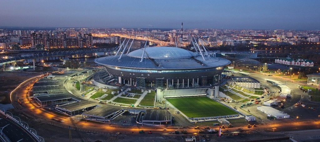 Top 6 COOLEST 2018 FIFA World Cup Stadiums in Russia - Samara Arena Resembles a Spaceship!