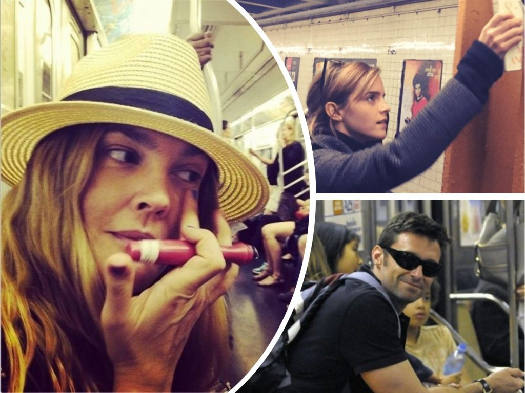 Fergie, Drew Barrymore + 5 Other Celebrities Who Were Spotted Riding Subway Just Like Ordinary People (Part 2)