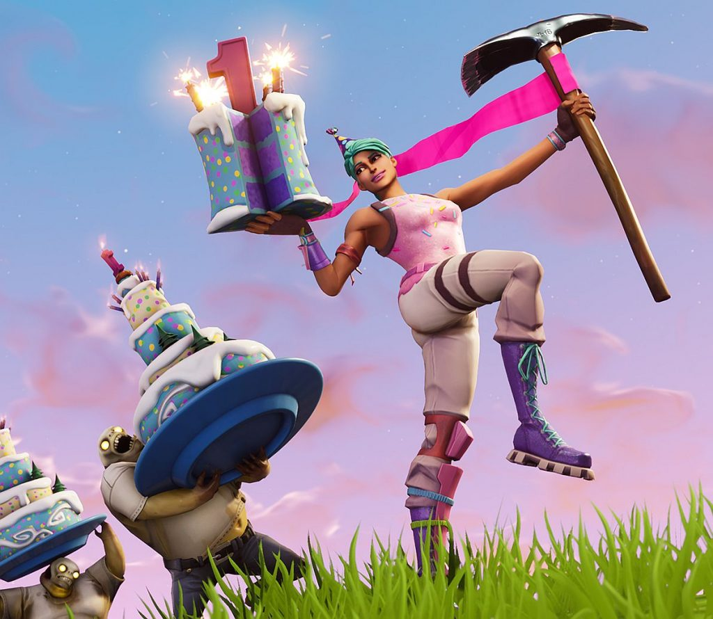 Fortnite Birthday Update Mini Games Cake And Other Things