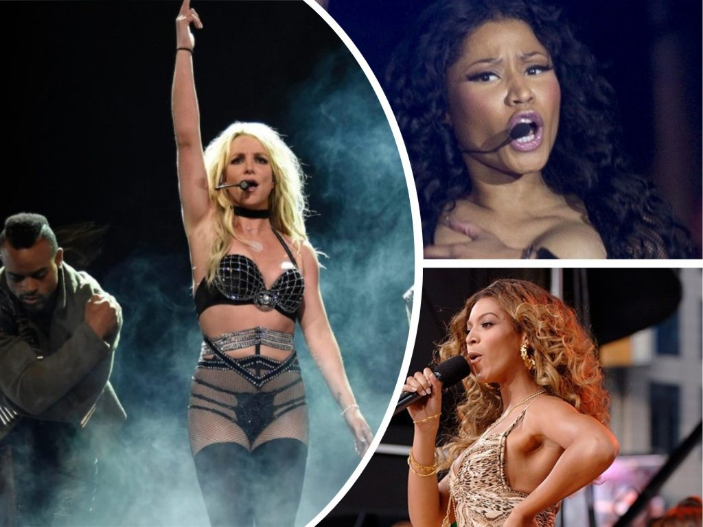 Showing Little Too Much: Britney Spears, Lady Gaga + Other Famous Celebrities Who Suffered Wardrobe Malfunction on Stage