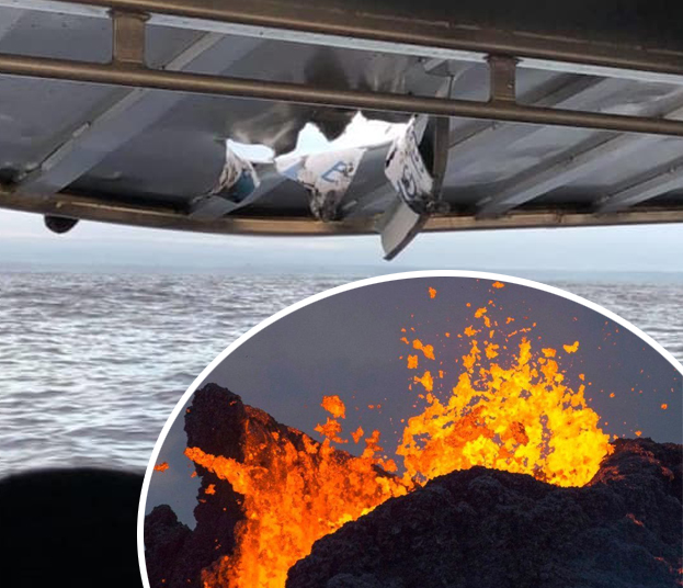Vicious Hawaii Volcano: Lava Bomb Hit a Boat and Injured 23 Tourists (PHOTOS) + Video