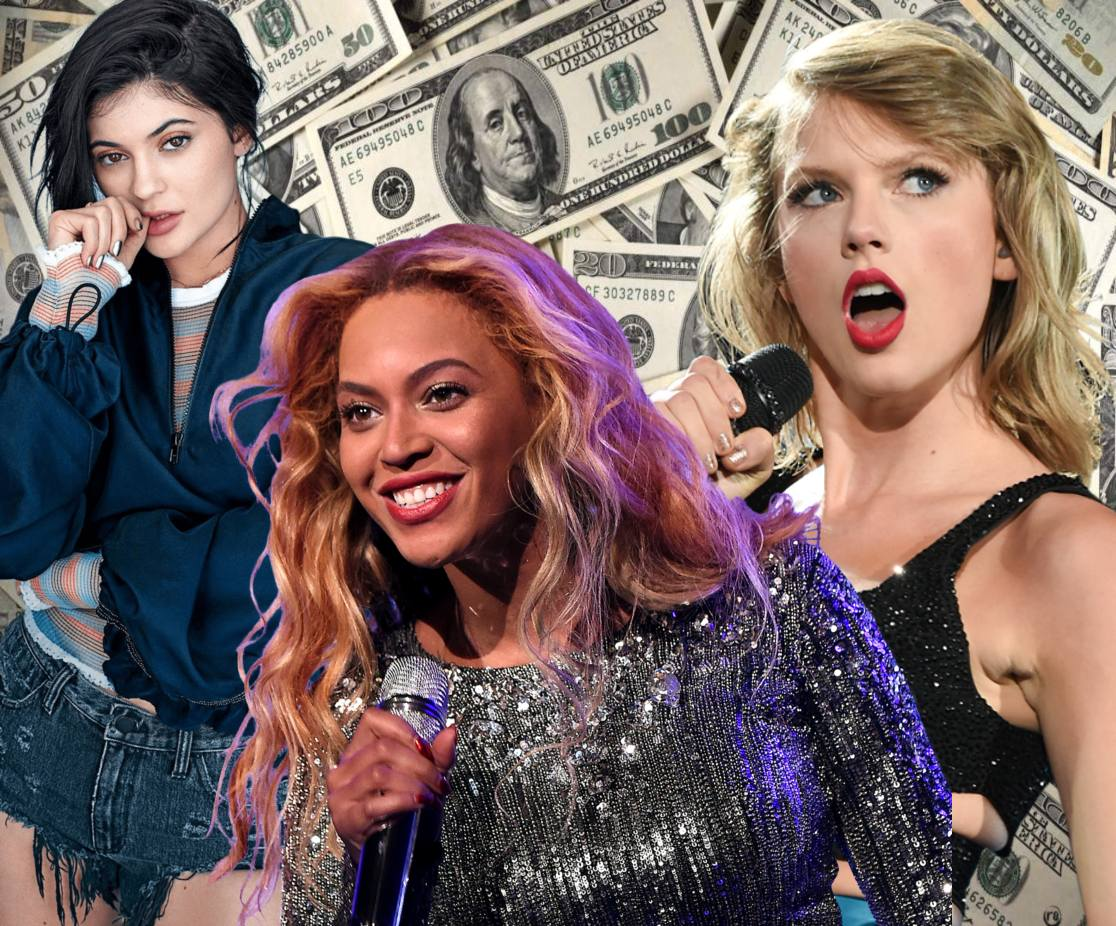 Here's How Much Money A-List Celebs Make in an Hour: Kylie Jenner, Beyonce or Taylor Swift - Guess Who's on Top (Infographics)