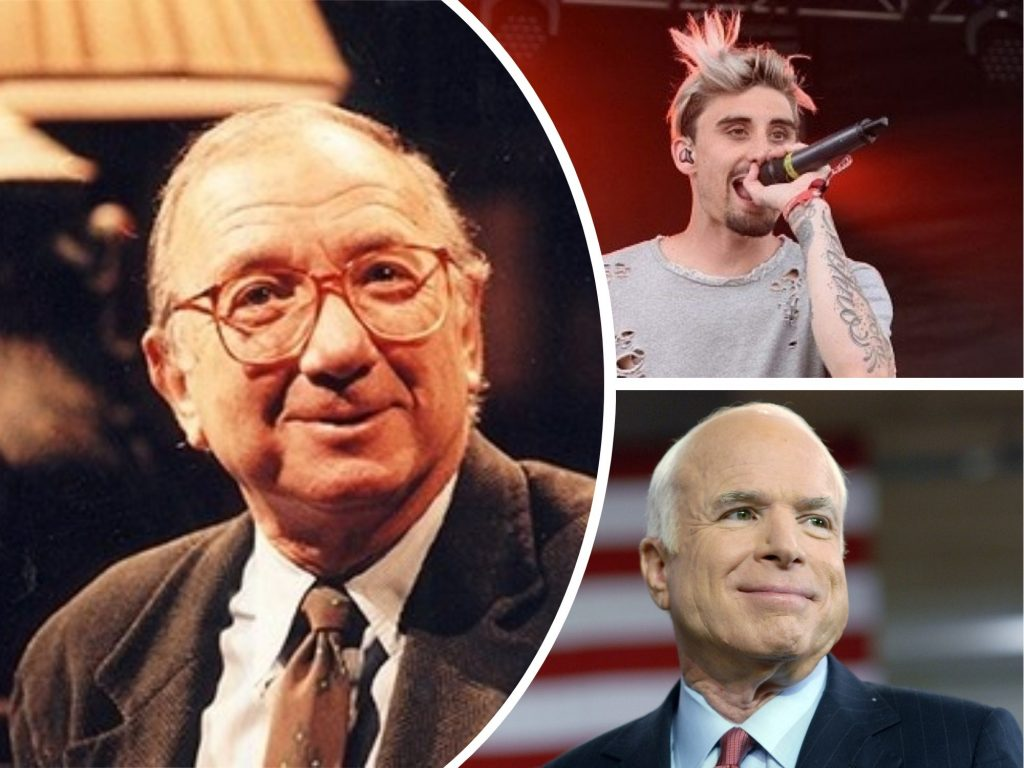 RIP: Senator John McCain, Pulitzer Prize-Winning Playwright Neil Simon and Singer Kyle Pavone Died - Short Overview
