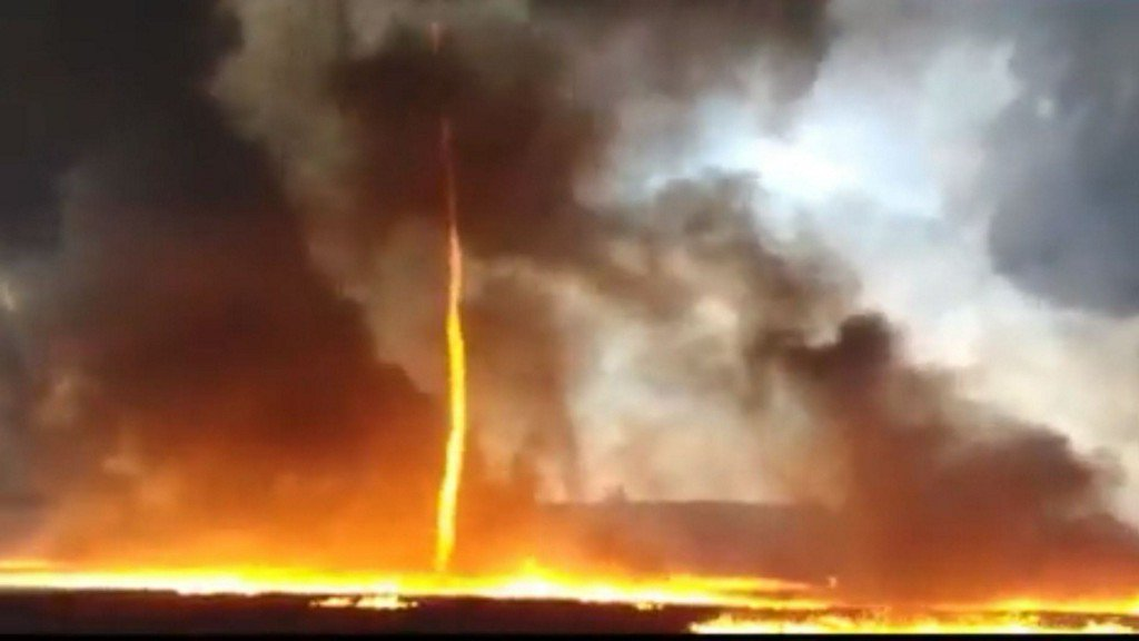 "No, It's Not End of the World! See 5 Apocalyptic ""Firenado"" Whirlwinds of Vicious Flame Worldwide"