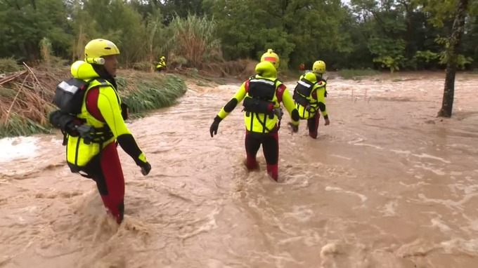 France Floods: 1,600 Evacuated Including 119 Children as flash floods Hit Hard Camp Sites