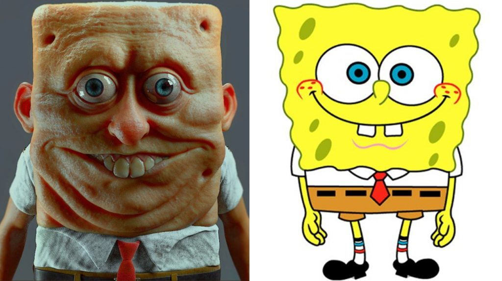Why Can T We Unsee This 7 Terrifying Real Life 3d Re Imagining