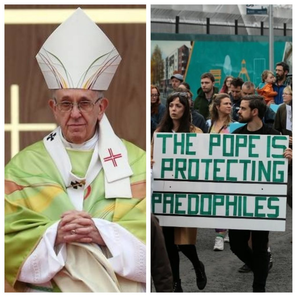ireland-pope-protests-pics