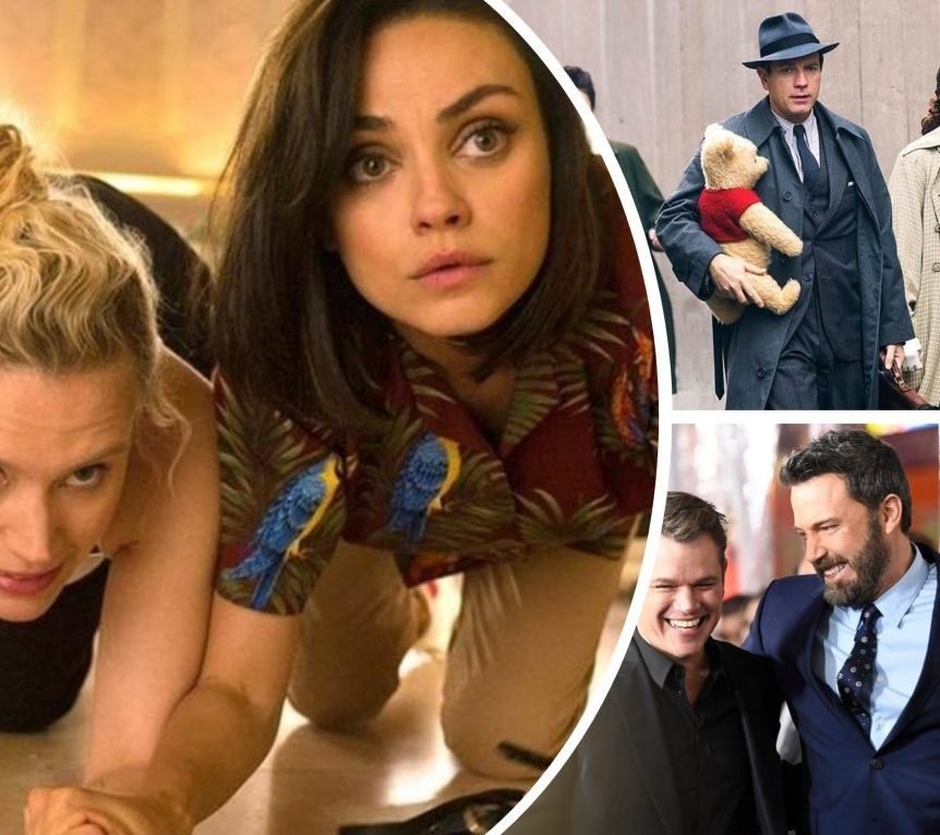 Disney's 'Christopher Robin', 'The Spy Who Dumped Me' with Mila Kunis + 5 Other Movie Premieres and News of the Week