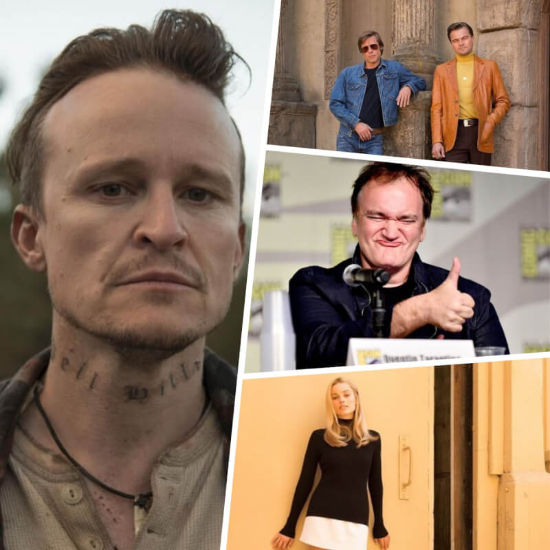 "Damon Herriman to Portray Manson + 5 Facts About Tarantino's ""Once Upon a Time in Hollywood"" We Know So Far"