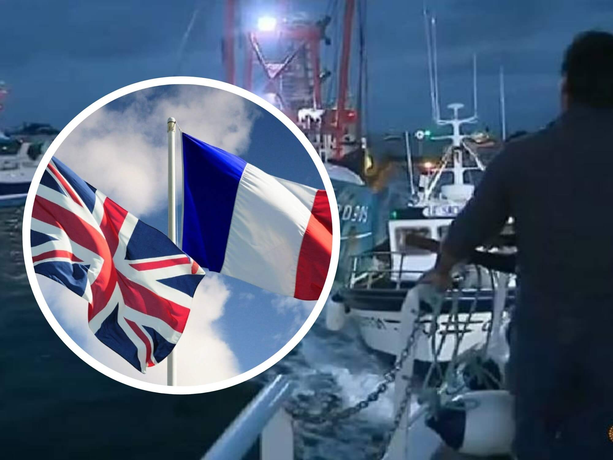 Scallop Wars: French and British Fishermen Fight With Throwing Stones and Clashing Boats (VIDEO + Photos)