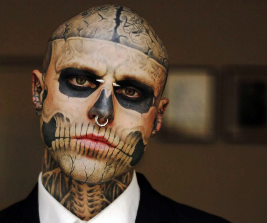 Zombie Boy Model Rick Genest Famous For Appearance in Lady Gaga's 'Born This Way' Music Video Dead at 32
